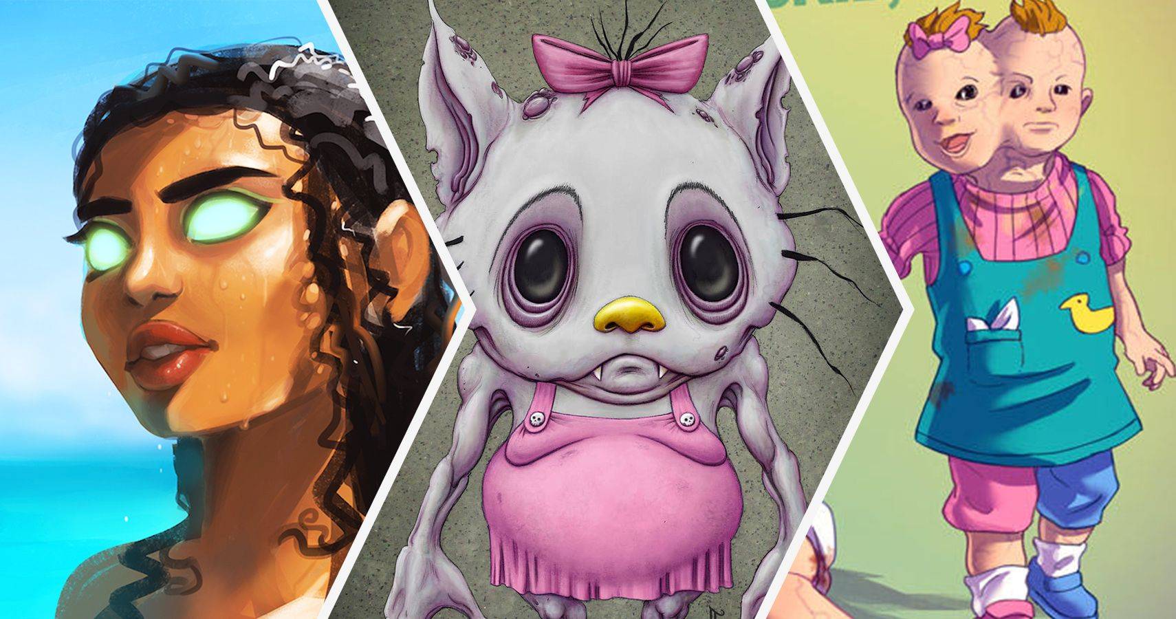 20 Wild Cartoon Characters Reimagined As Villains Screenrant
