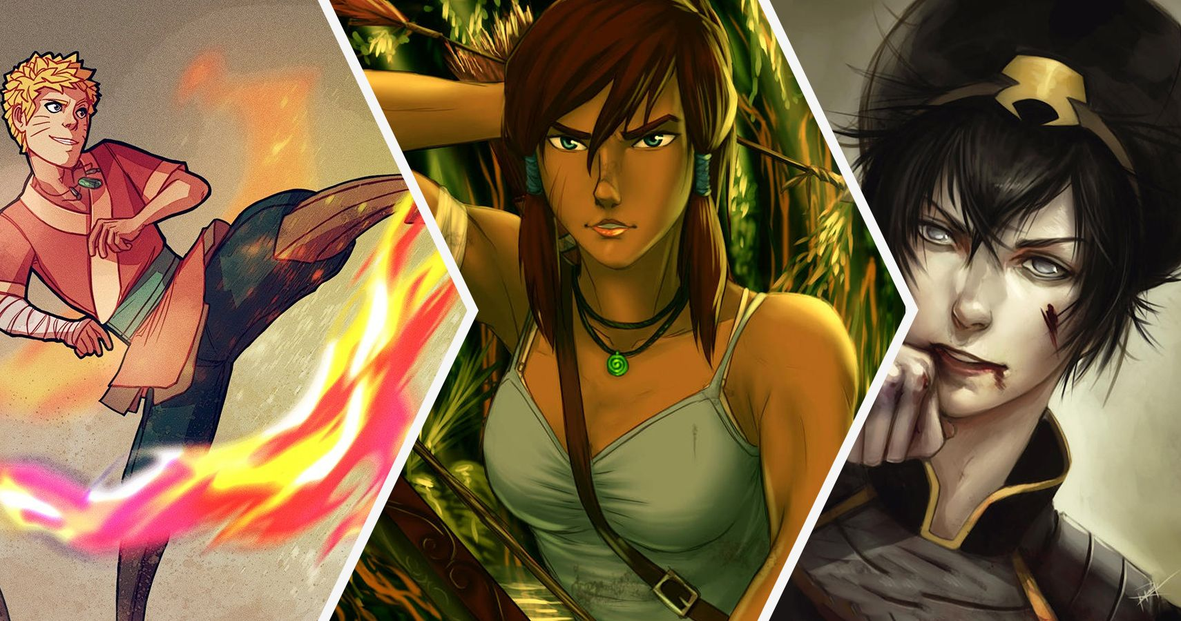 30 Fan Redesigns Of Avatar And Legend Of Korra Characters Better Than What We Got