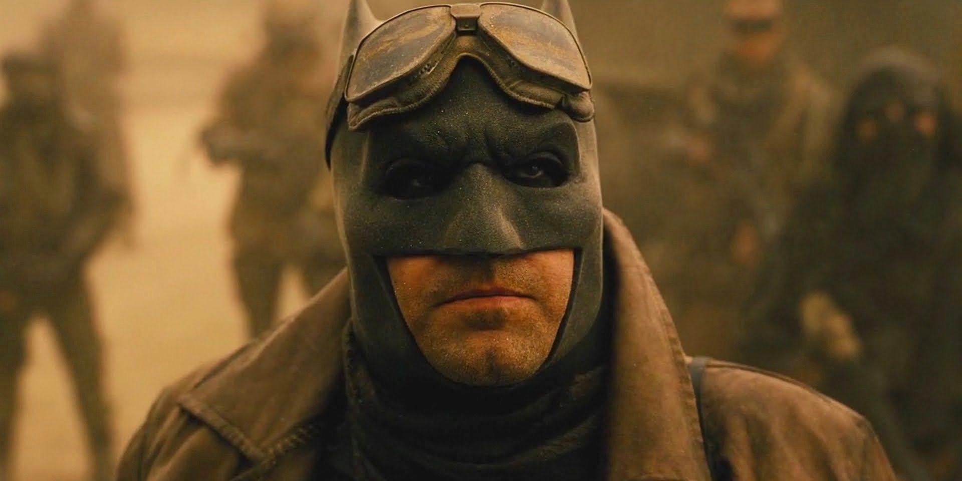 Ben Affleck está quebrando um recorde de ação ao vivo do Batman 1