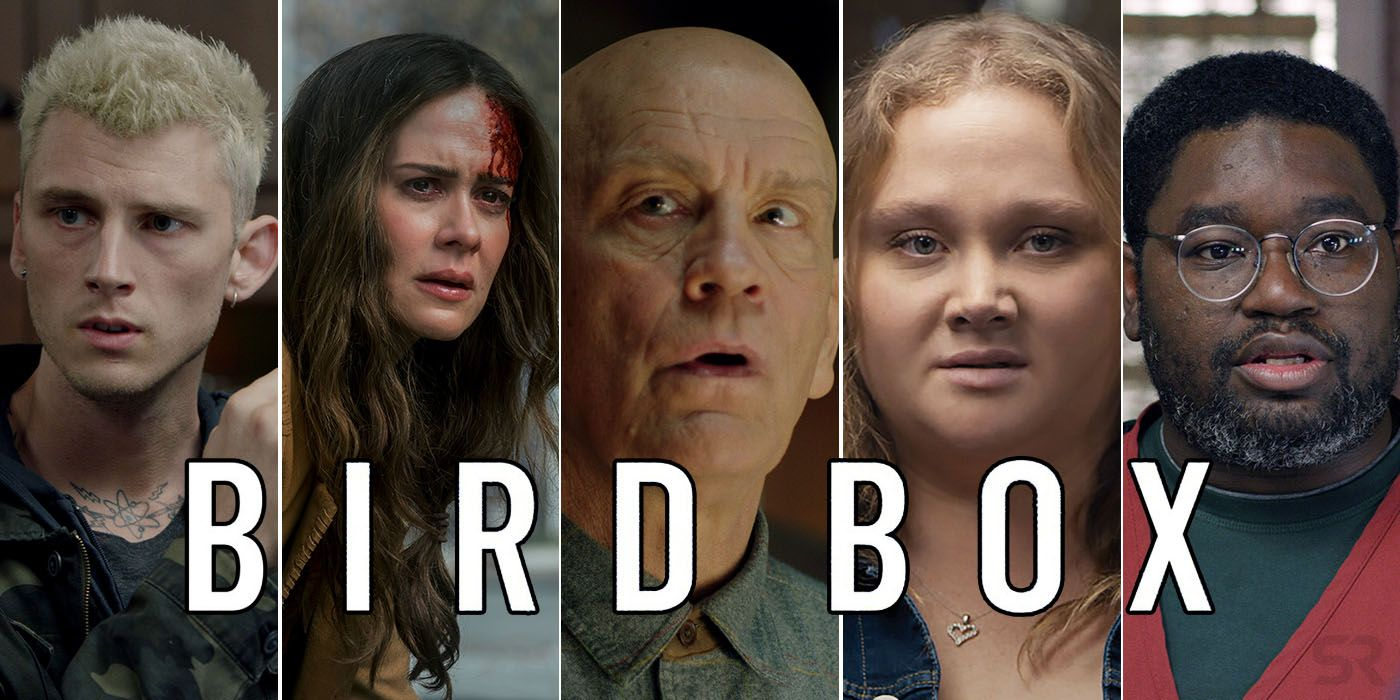 Bird Box Movie Cast Character Guide Screenrant