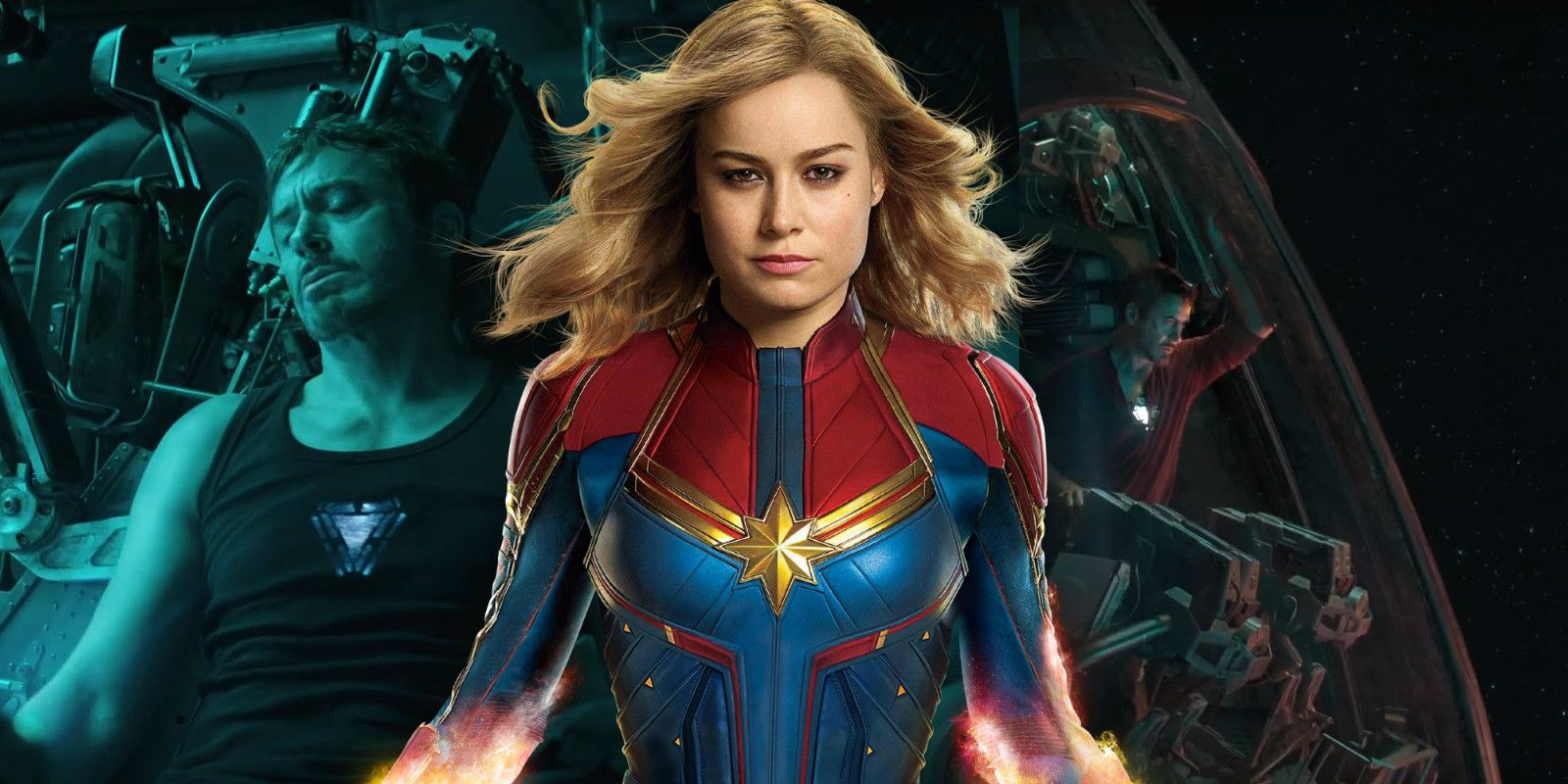 Avengers: Endgame Picture: Avengers 4 Theory: Captain Marvel Saves Tony Stark In Space