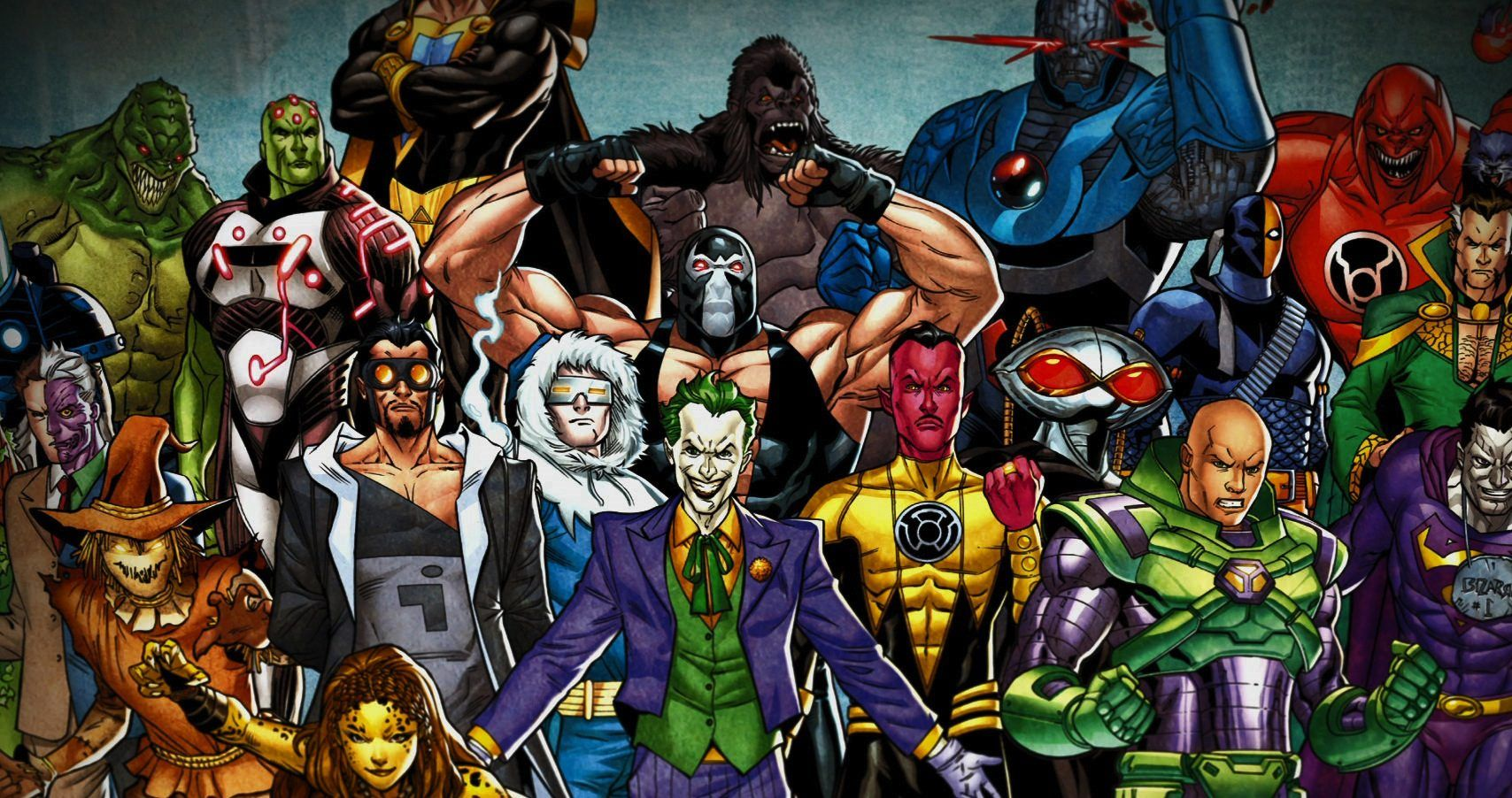 Mbti Personality Types Of Dc Super Villains Screenrant