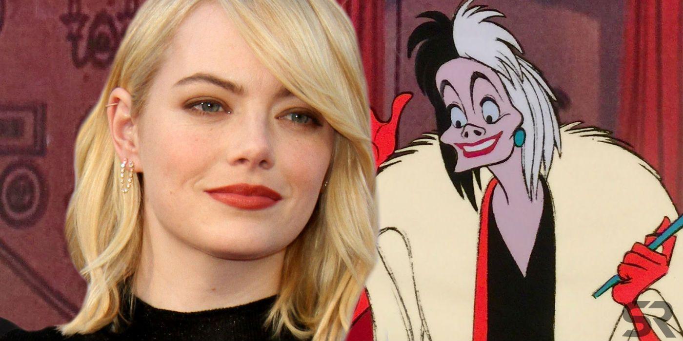 Cruella de Vil Movie Image: Emma Stone Is Punk Rock In First Look