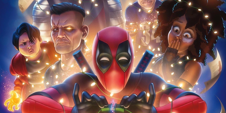 Deadpool Game Domino Poster