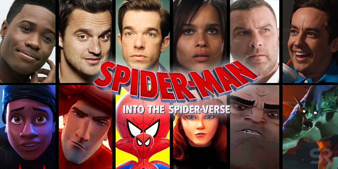 Spider-Man: Into the Spider-Verse Voice Cast & Surprise Cameo Guide