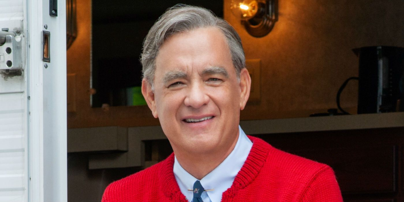 Tom Hanks Mr Rogers Meets Matthew Rhys Lloyd Vogel In New Image