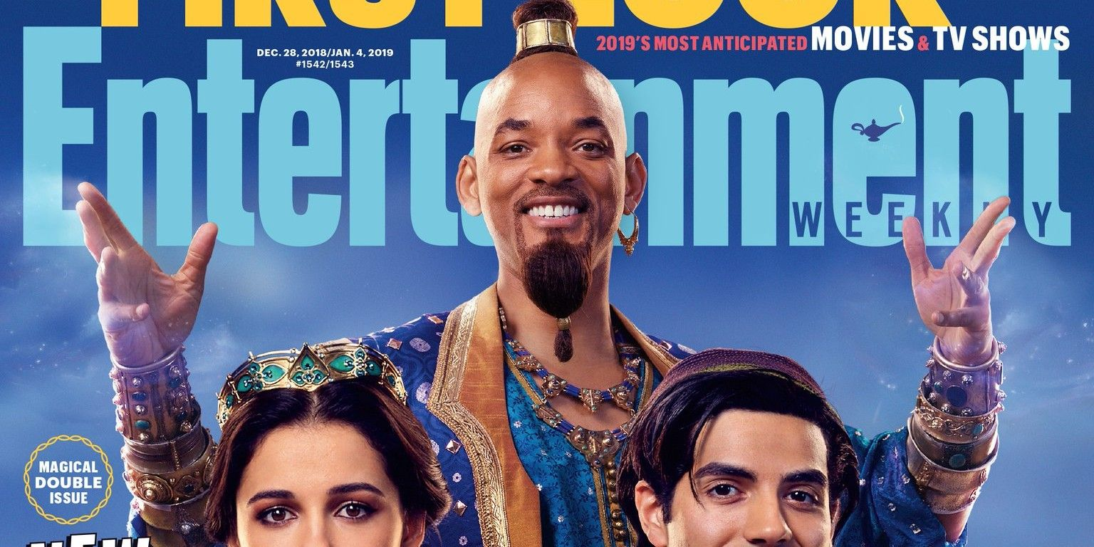 Will Smith Genie: Live-Action Aladdin Images Reveal Will Smith As The Genie
