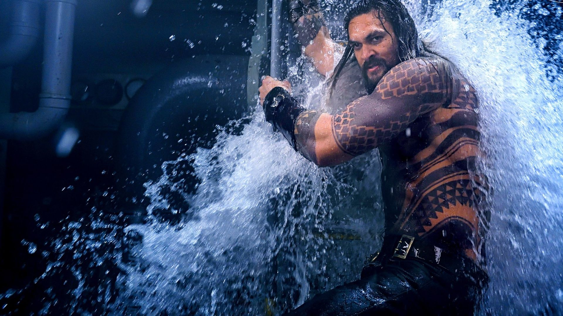 A still from the movie Aquaman