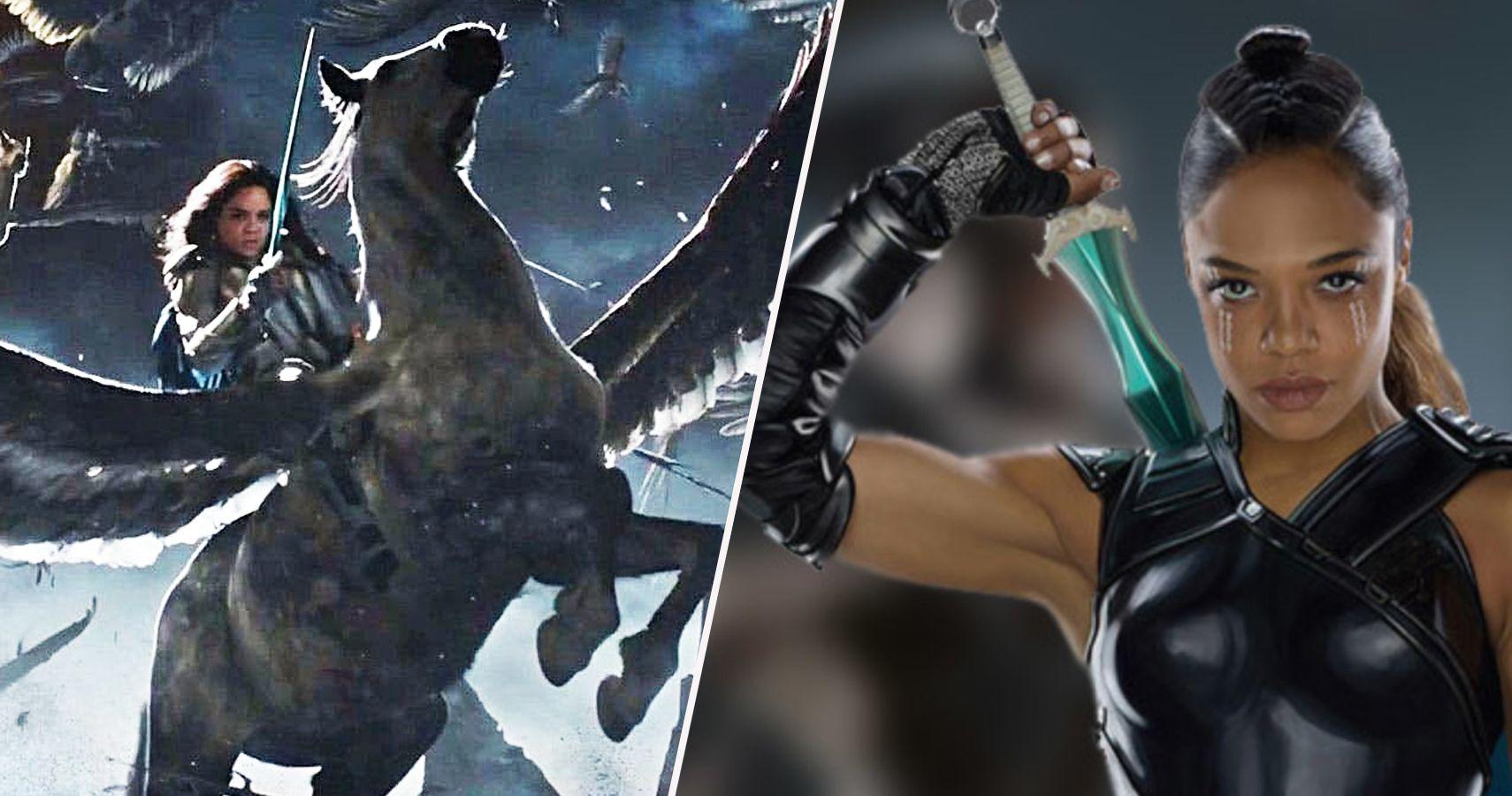 Thor 20 Wildest Details About Valkyrie S Anatomy Screenrant