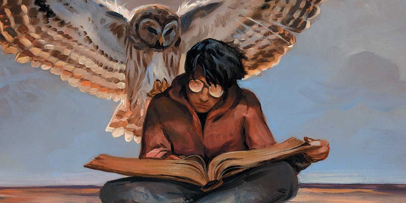 A painting of Timothy Hunter, DC's Harry Potter, before Harry Potter. JLD team suggestion.