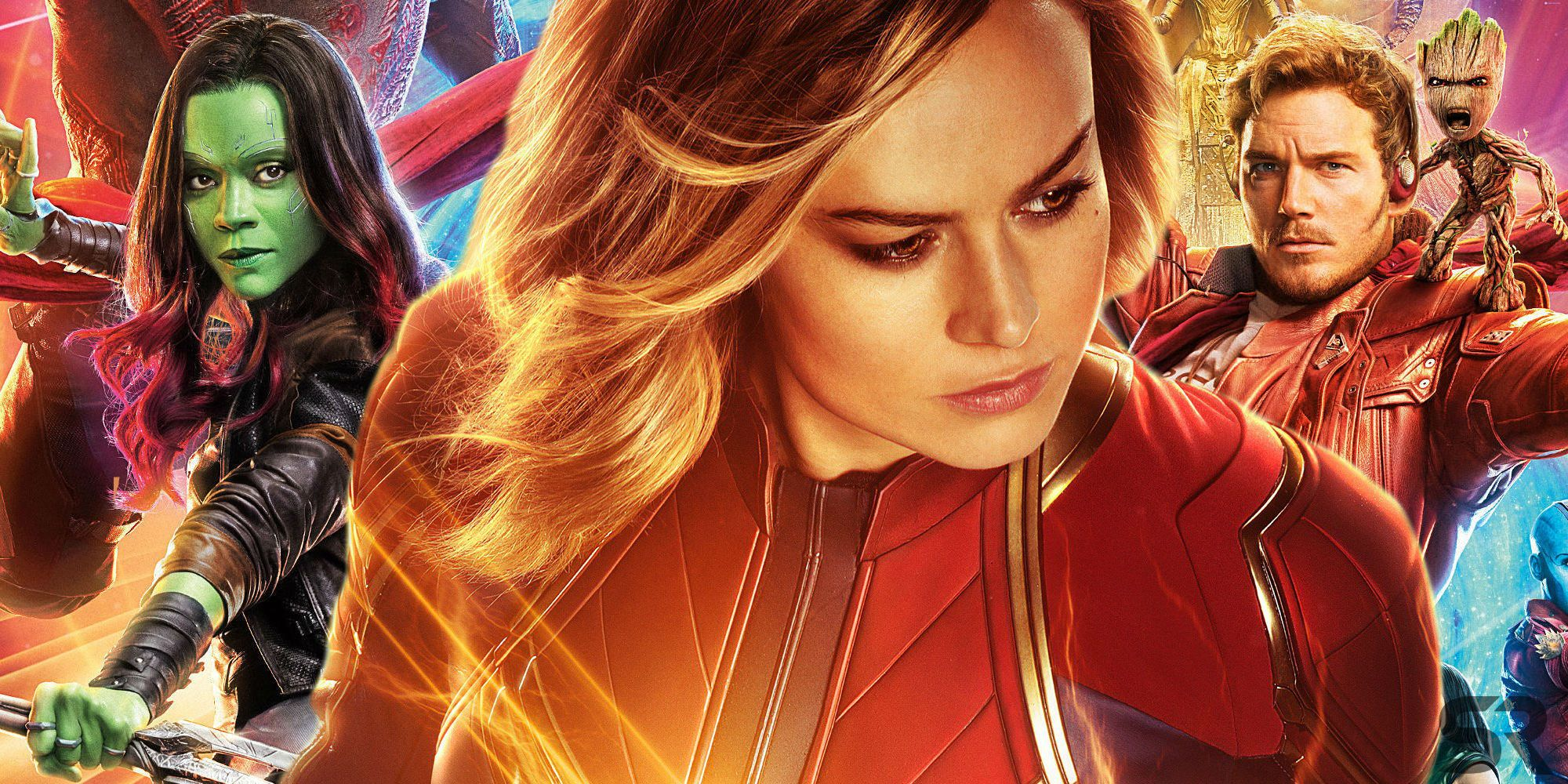 Is there a Captain Marvel-Guardians connection?