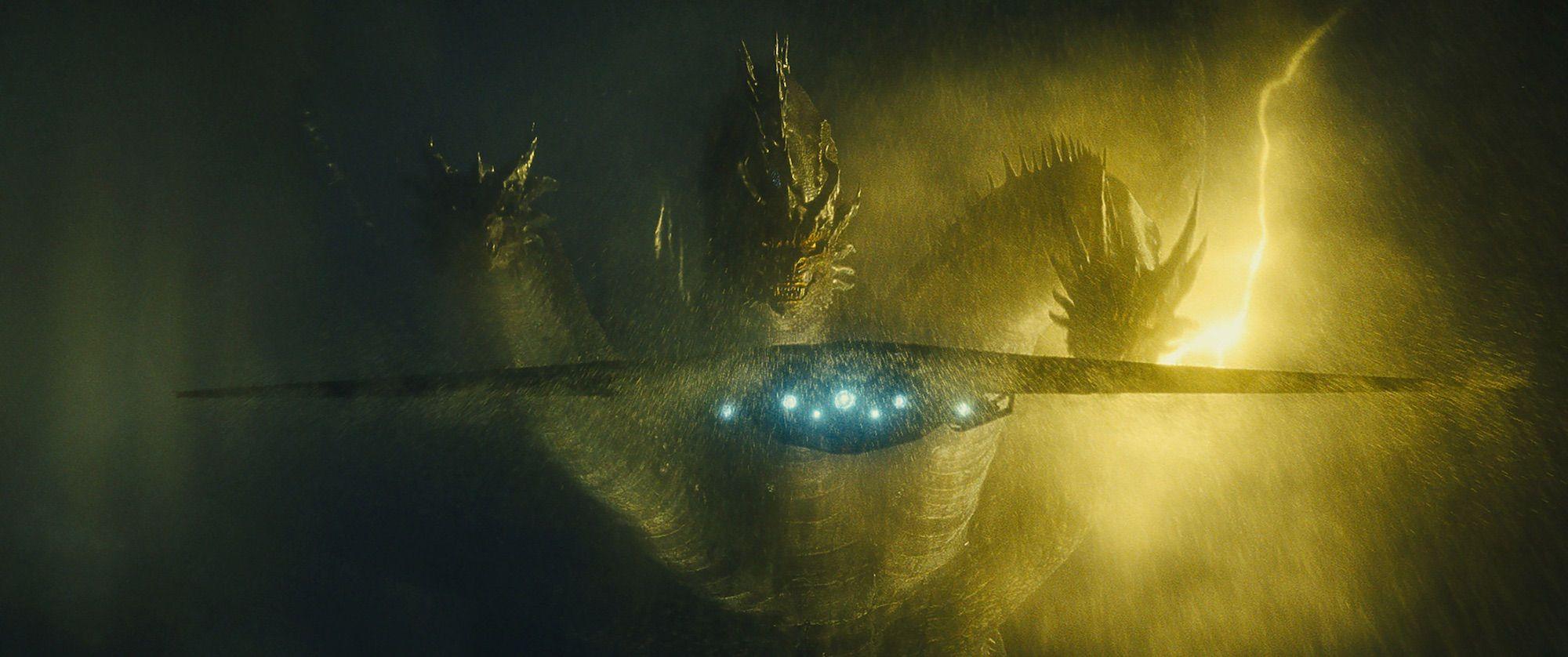 Król Ghidorah fikcyjny, gigantyczny potwór