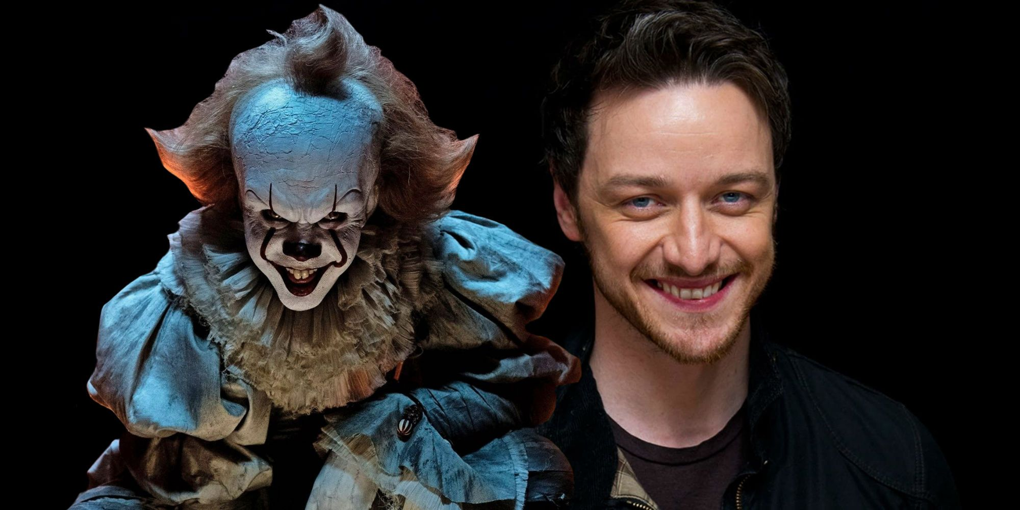 James McAvoy Says Pennywise Freaked Him Out On IT: Chapter ...