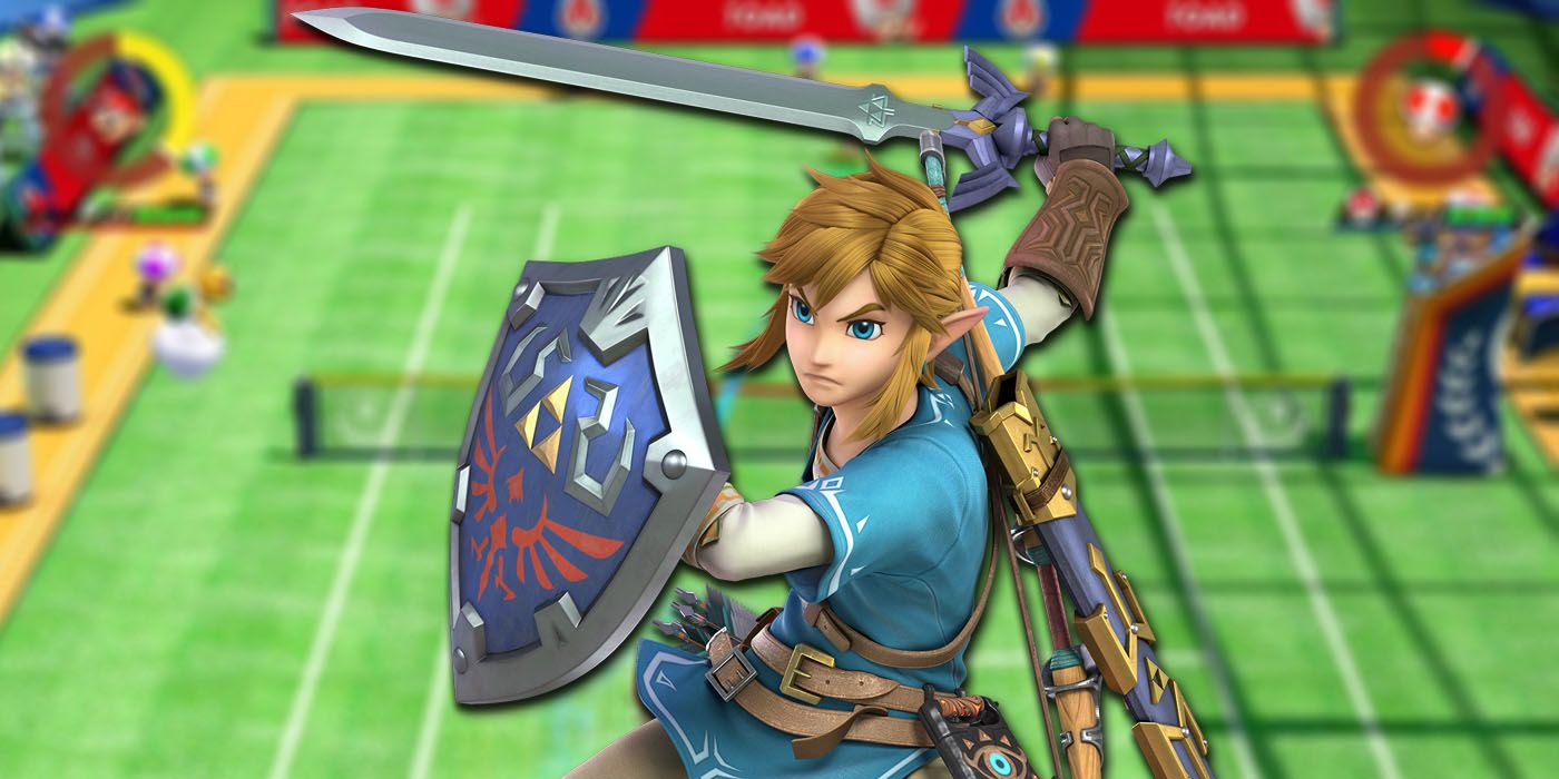 mario tennis aces could add link  which breaks a franchise