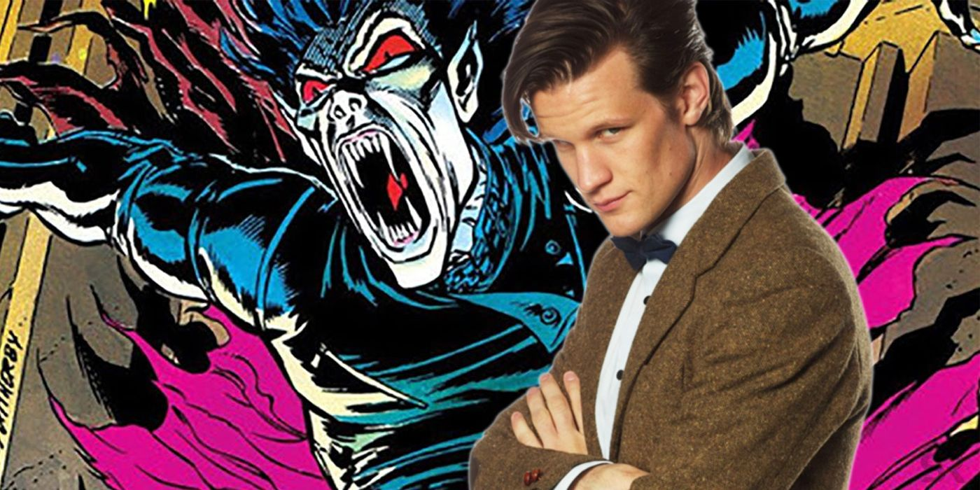 Doctor Who Morbius >> Matt Smith Starring in Spider-Man Spinoff Morbius with