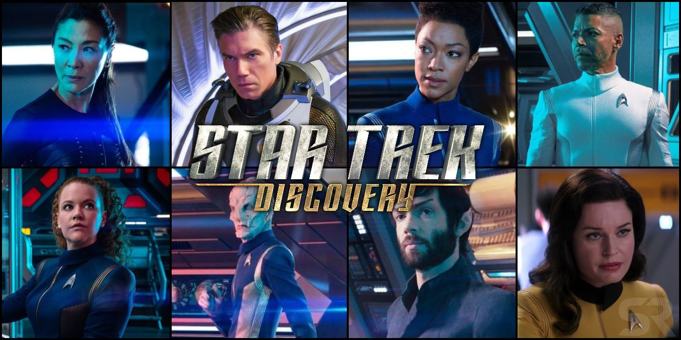 star trek discovery season 2 new cast  u0026 character guide