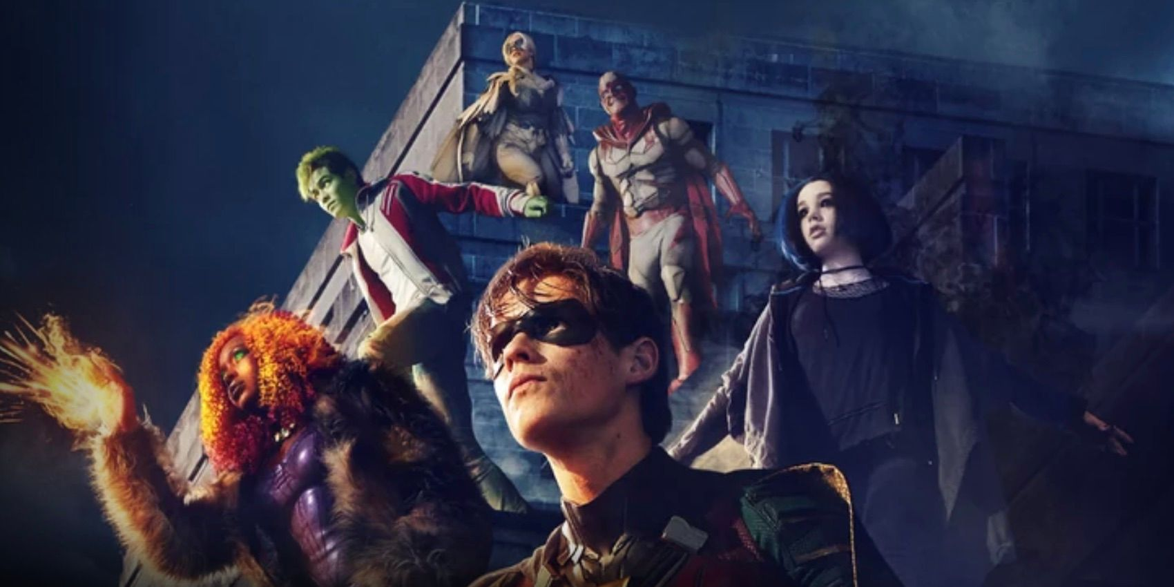 Dc 2019 Movies Poster: DC's Titans Is Now Available Internationally On Netflix