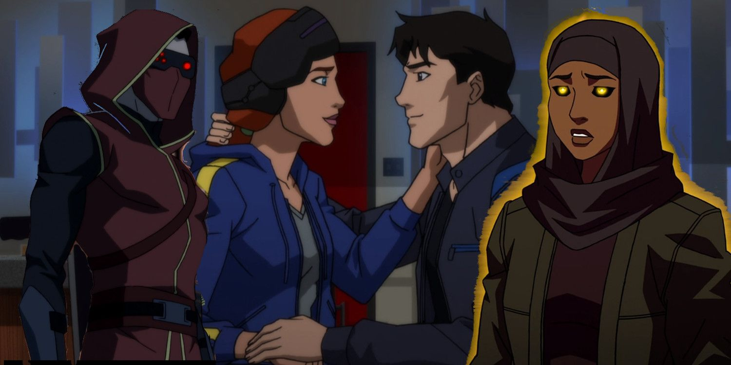 Young justice outsiders 10 biggest questions from episodes 4 6 - Pictures of nightwing from young justice ...