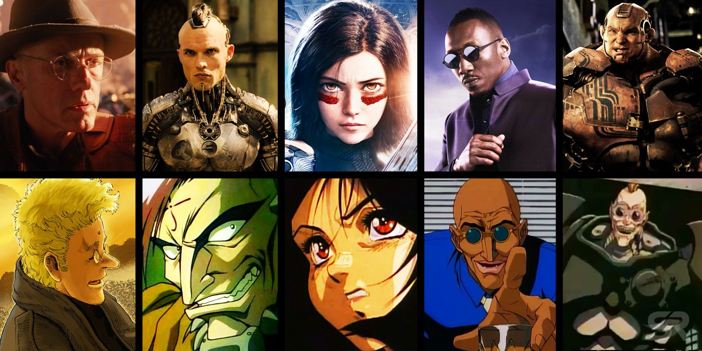 alita battle angel anime