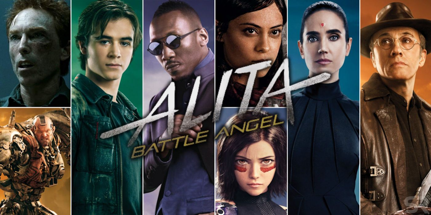 Alita: Battle Angel Cast: Who Plays Which Character (& Who ...