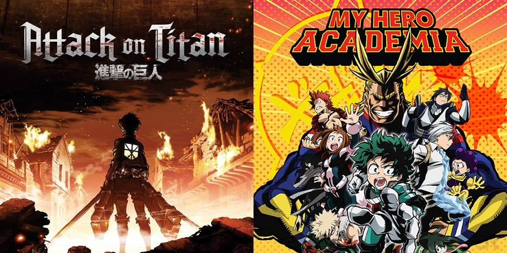 Attack on Titan & My Hero Academia First Seasons Removed From