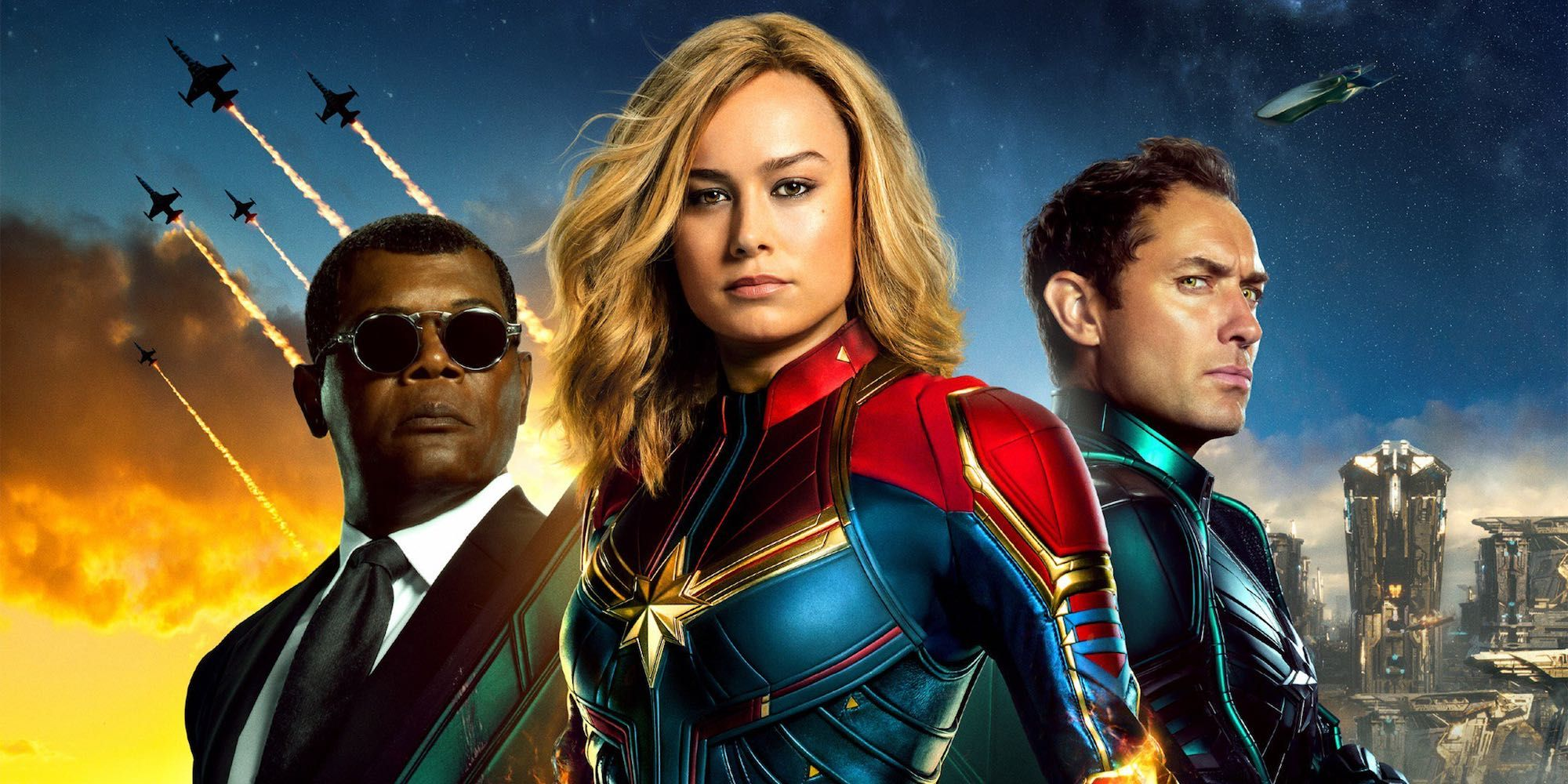 Captain Marvel Concept Art Suggests Nick Fury Is A Skrull