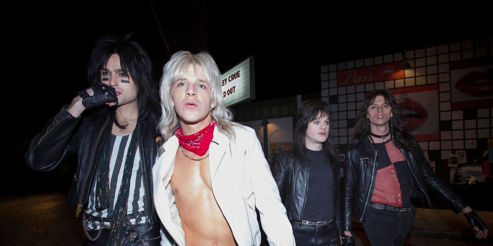 Netflix's Mötley Crüe Movie The Dirt Gets A Full Trailer & March 22 Premiere Date