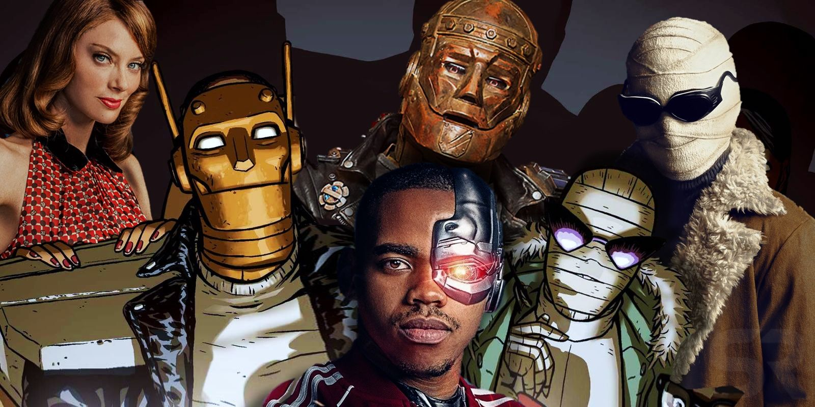 Doom Patrol Cast, Character & Comic Comparison Guide