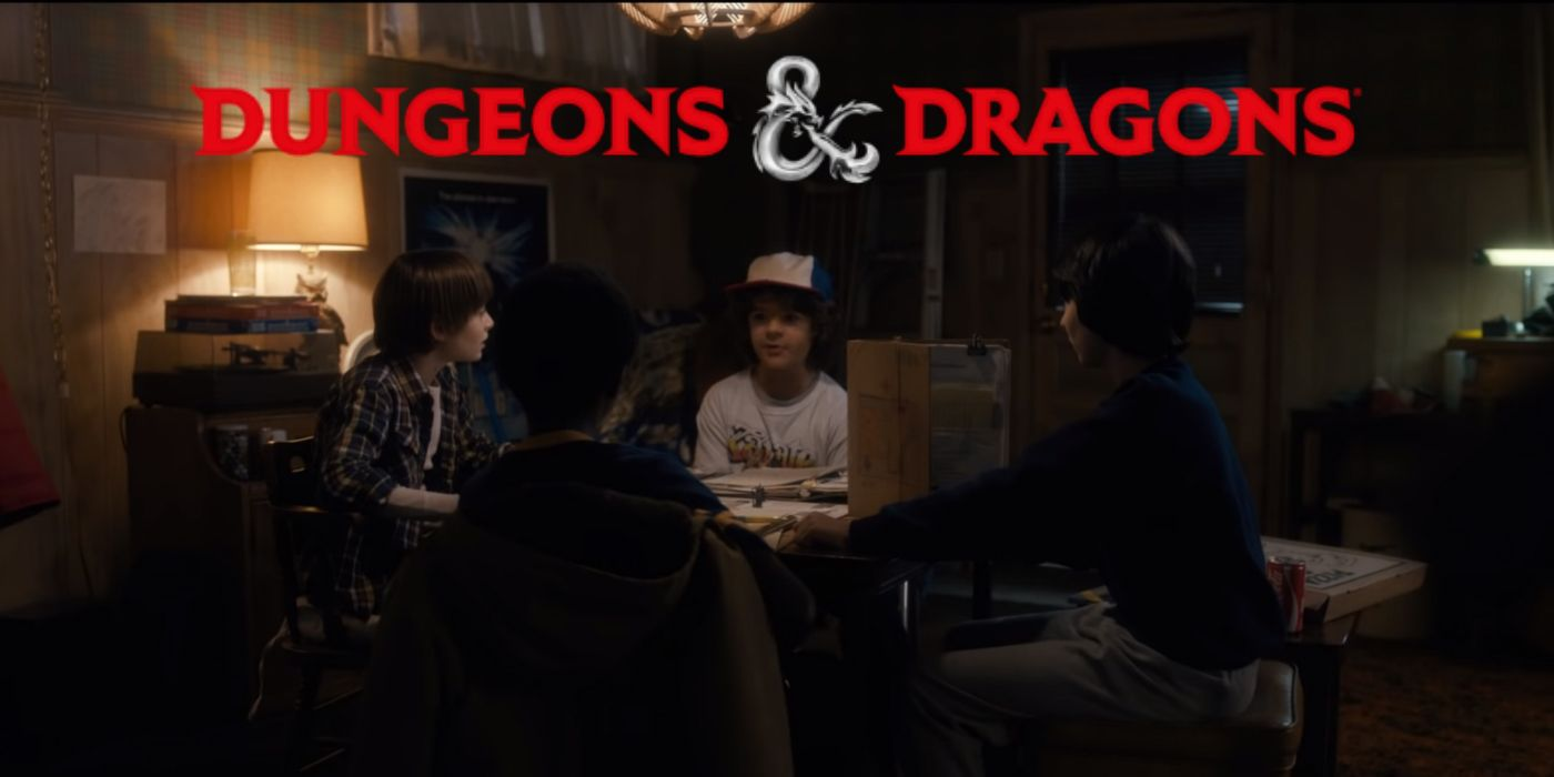 Stranger Things Coming to Dungeons & Dragons This Spring