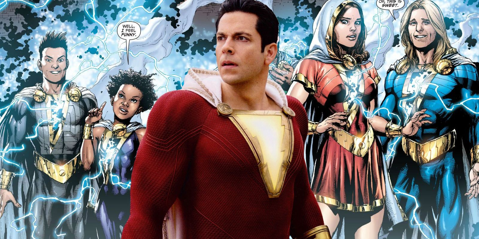 Shazam Family Explained: Who Plays The Adults & What Are Their Powers?