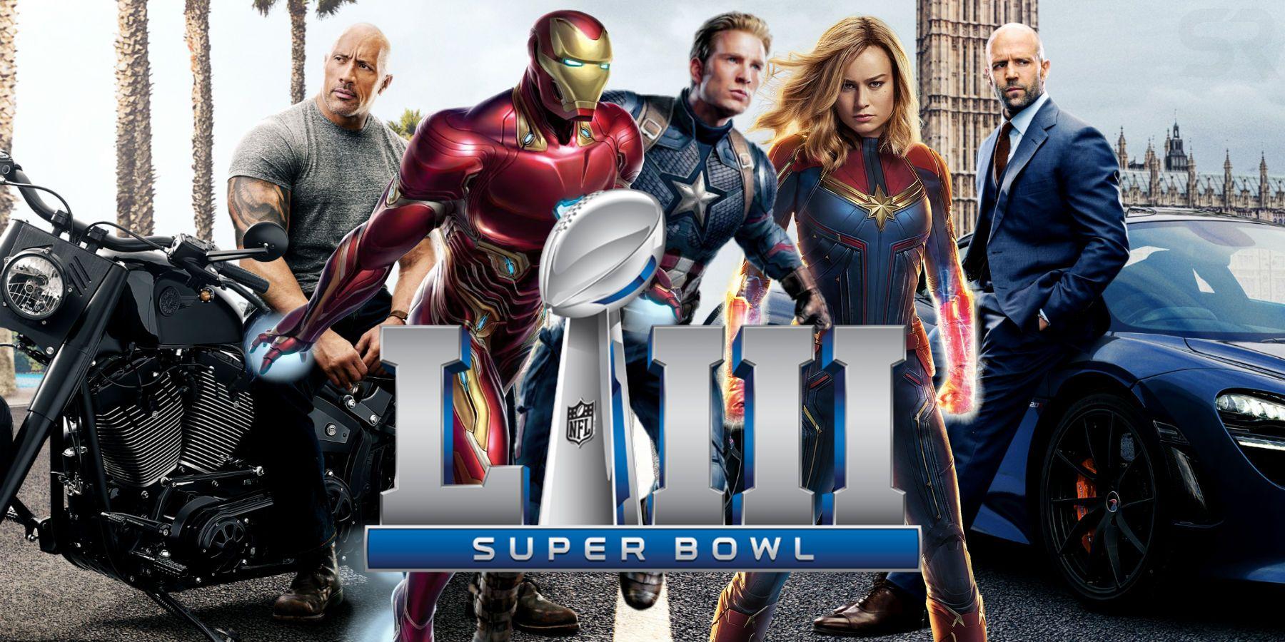 watch every super bowl 2019 movie trailer