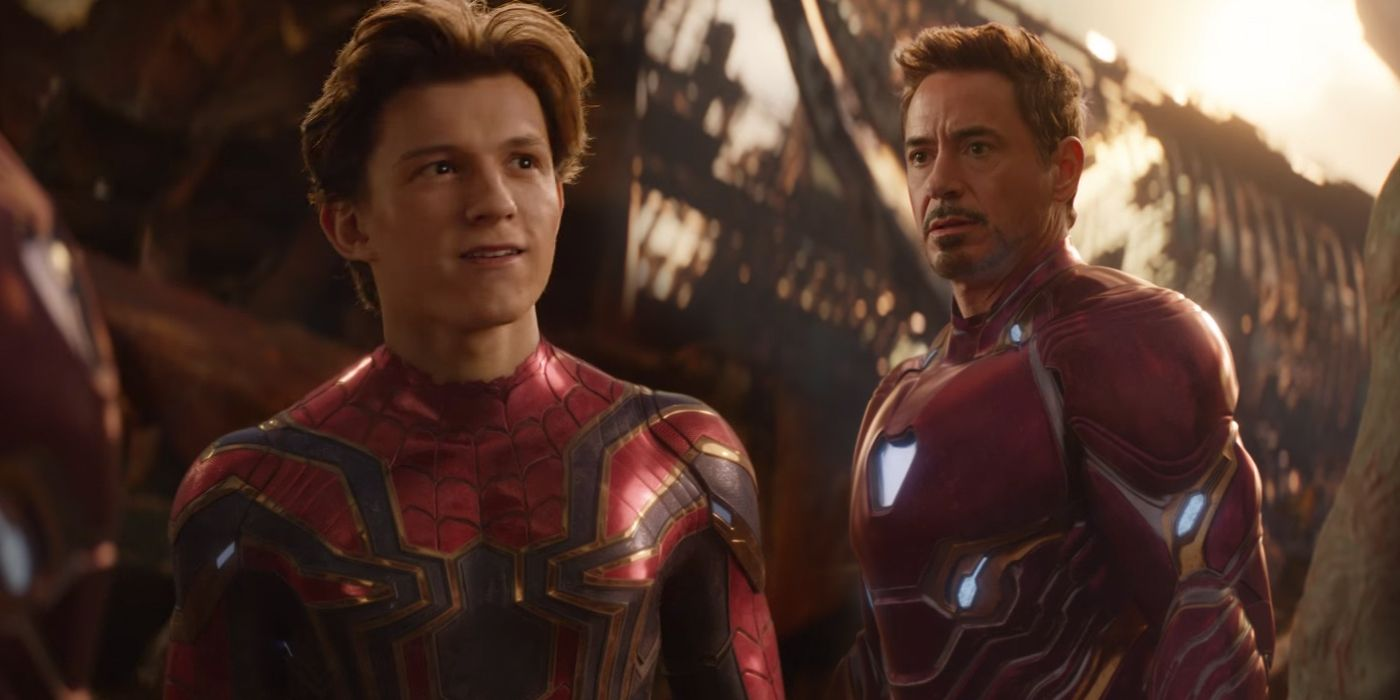 RDJ Shares Alternate Peter & Tony Photo From Avengers: Endgame