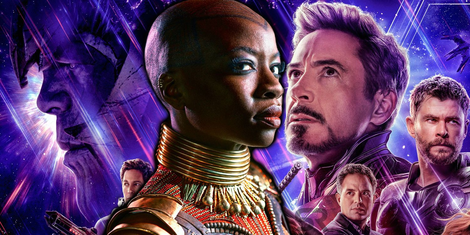 Avengers Endgame Poster Re Released With Danai Gurira S Name