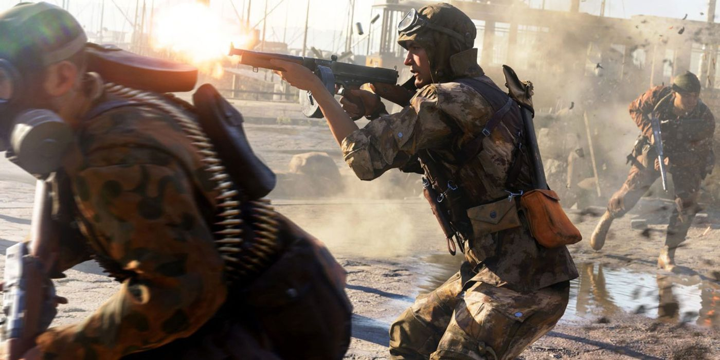 Battlefield V Firestorm Footage Leaks, First Look At New Mode