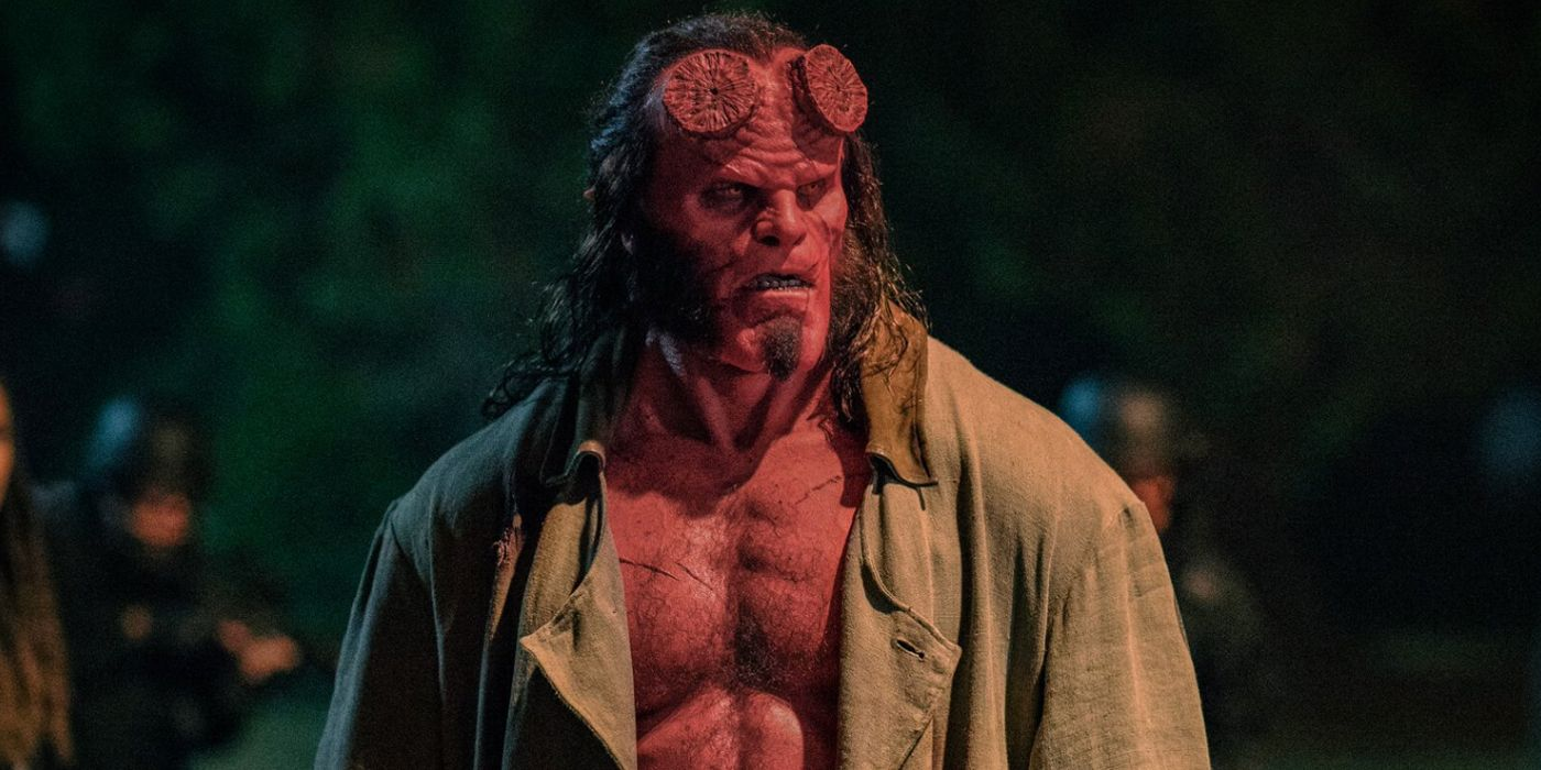 Hellboy Is On Horseback In New Images From The Reboot Film
