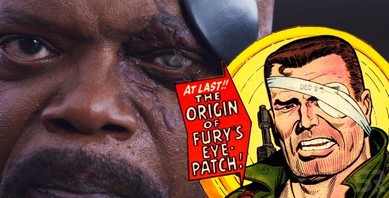 How Nick Fury Lost His Eye In The Comics (& Why The MCU