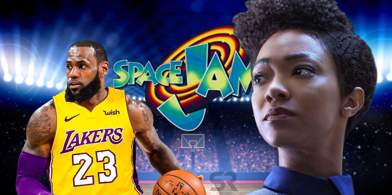 Space Jam 2 Casts Star Trek Discovery S Sonequa Martin Green