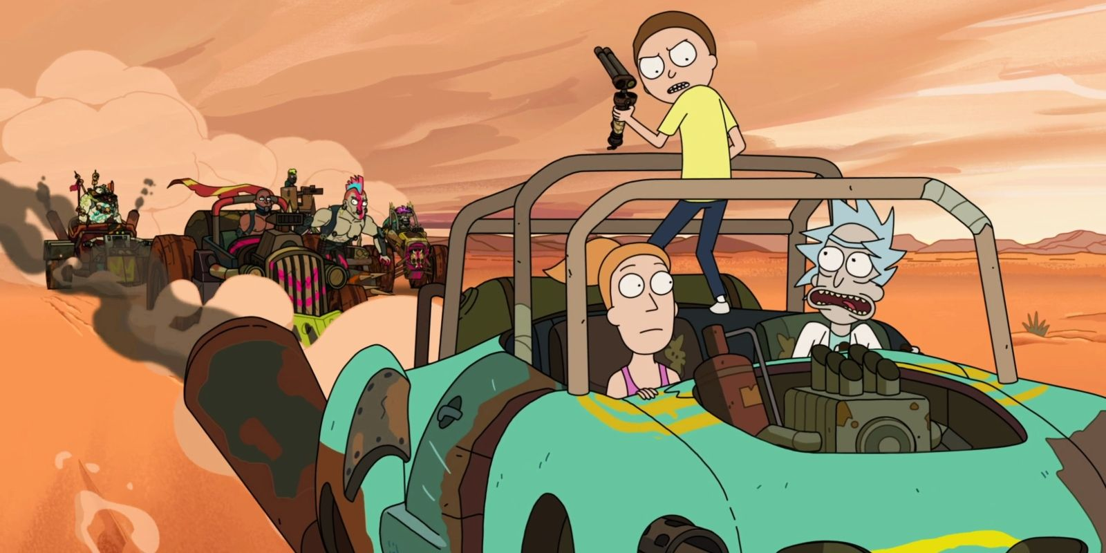 10 Times Rick And Morty Stole From Other Shows & Movies