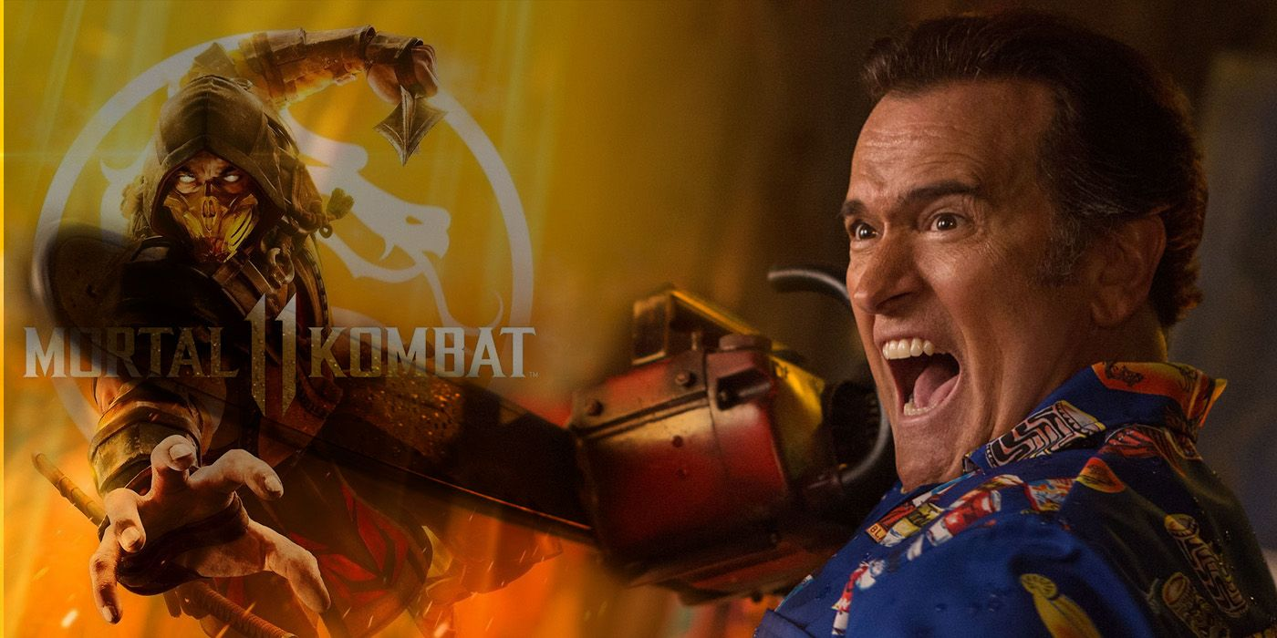 Bruce Campbell's Ash Won't Appear In Mortal Kombat 11