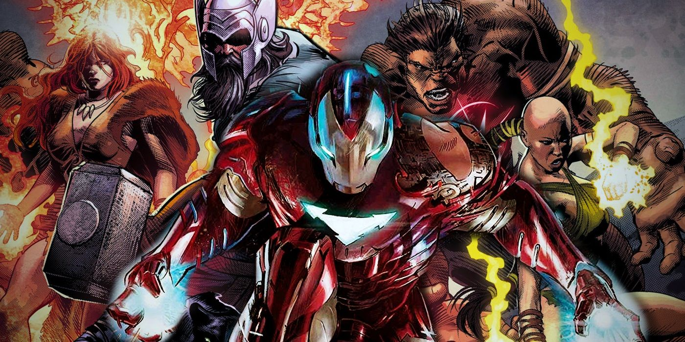Iron Man Teams Up With Marvel's ANCIENT Avengers | Screen Rant