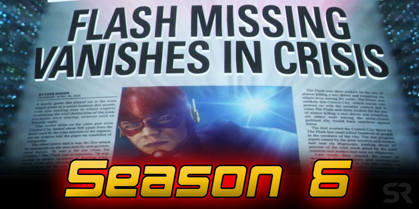 The Flash Season 6 Release Date & Story Details | Screen Rant
