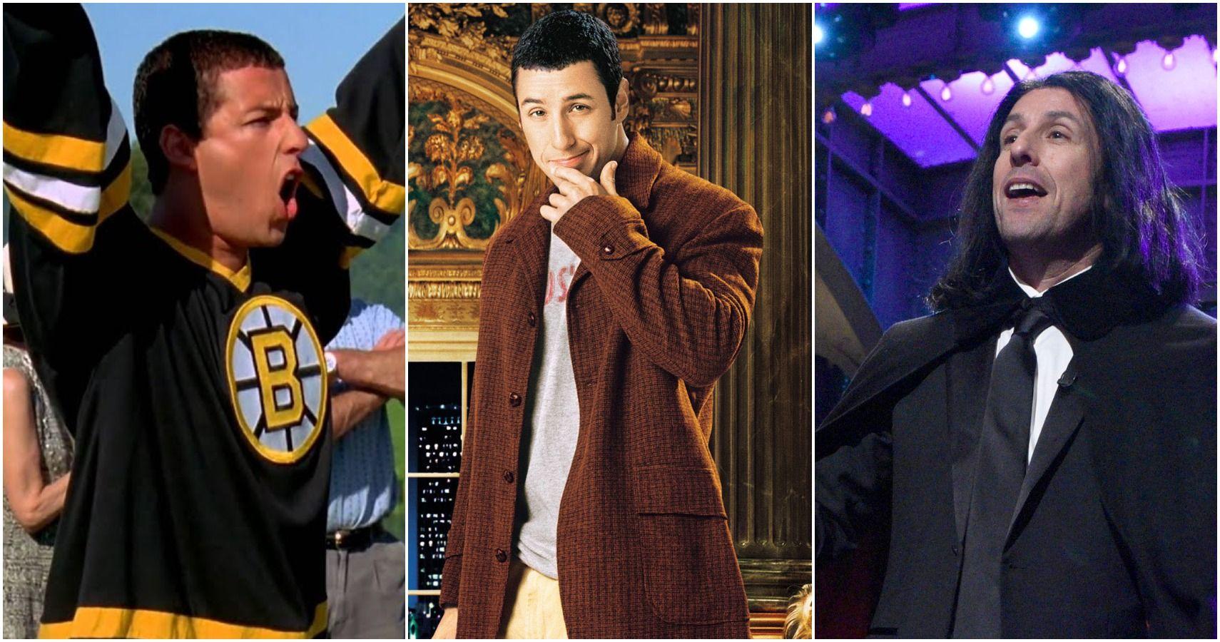 Ranking Adam Sandler's 10 Funniest Characters