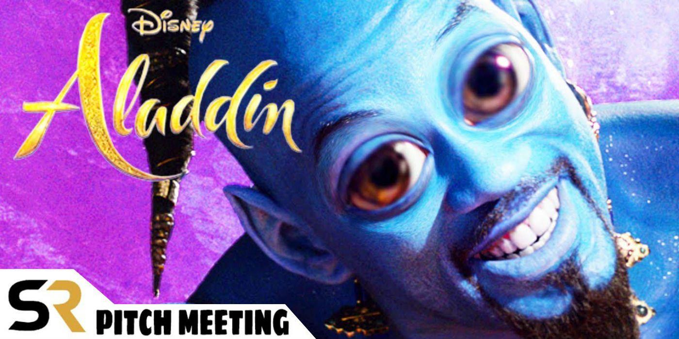 Aladdin 2019 Pitch Meeting Screenrant