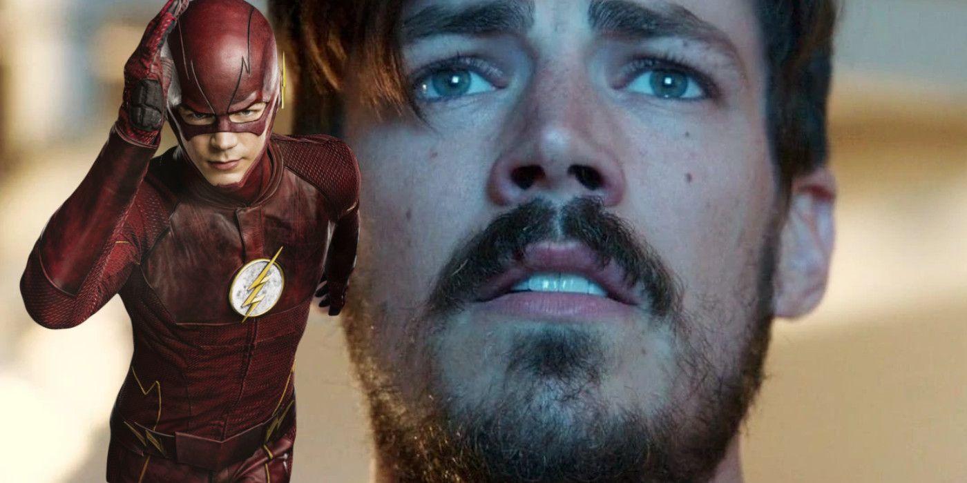 The Flash Star Grant Gustin Shaves His Beard Ahead of Season 6