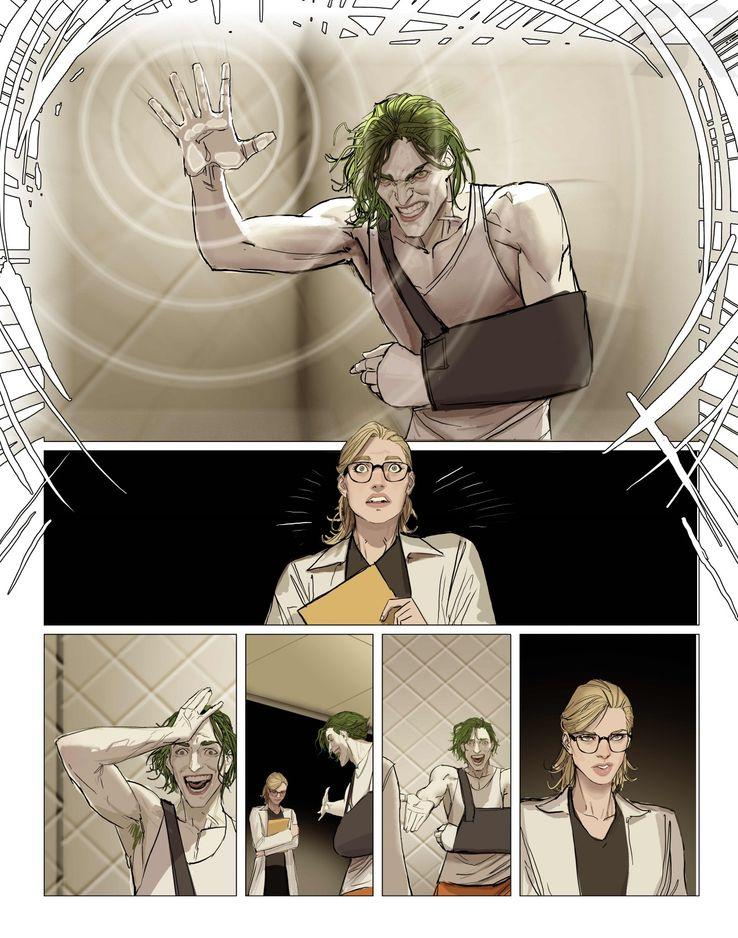 Comics : Harleen Harleen-DC-Black-Label-Preview-5