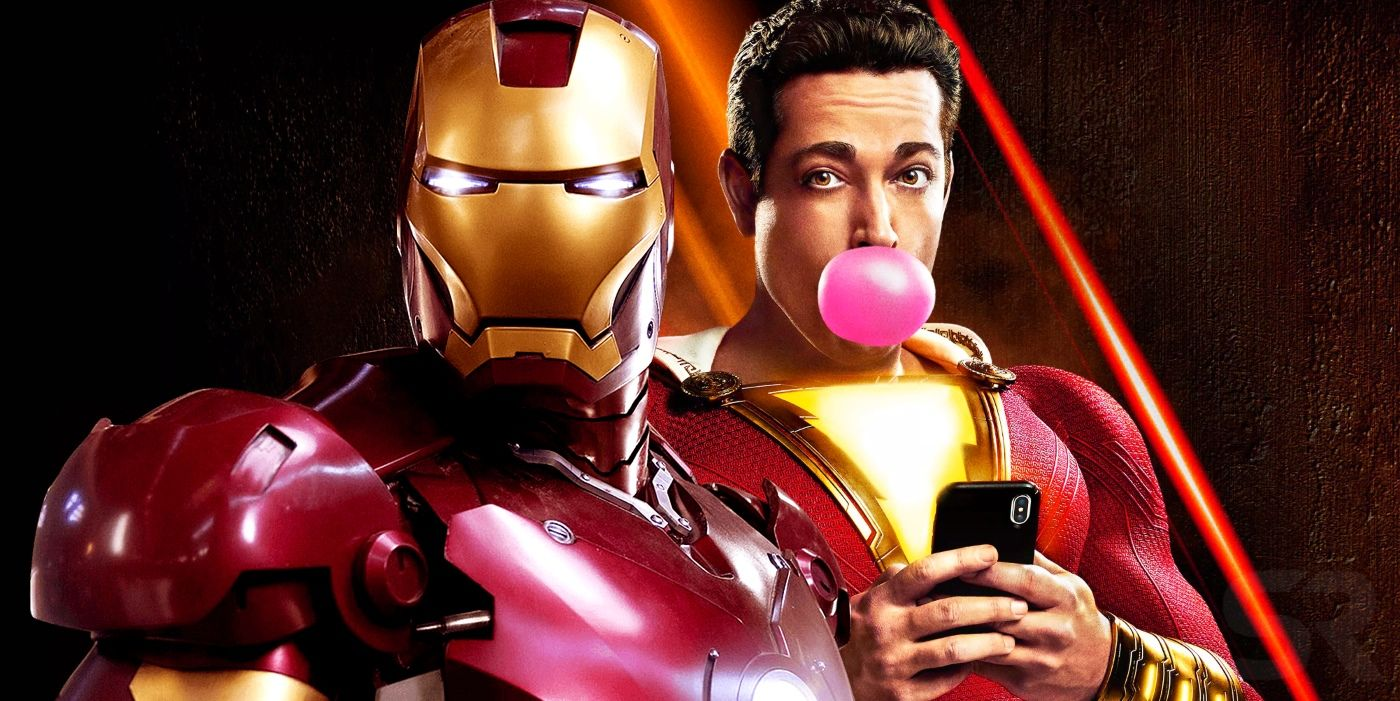 Iron Man Confirms Shazam Exists in Marvel's Universe | ScreenRant
