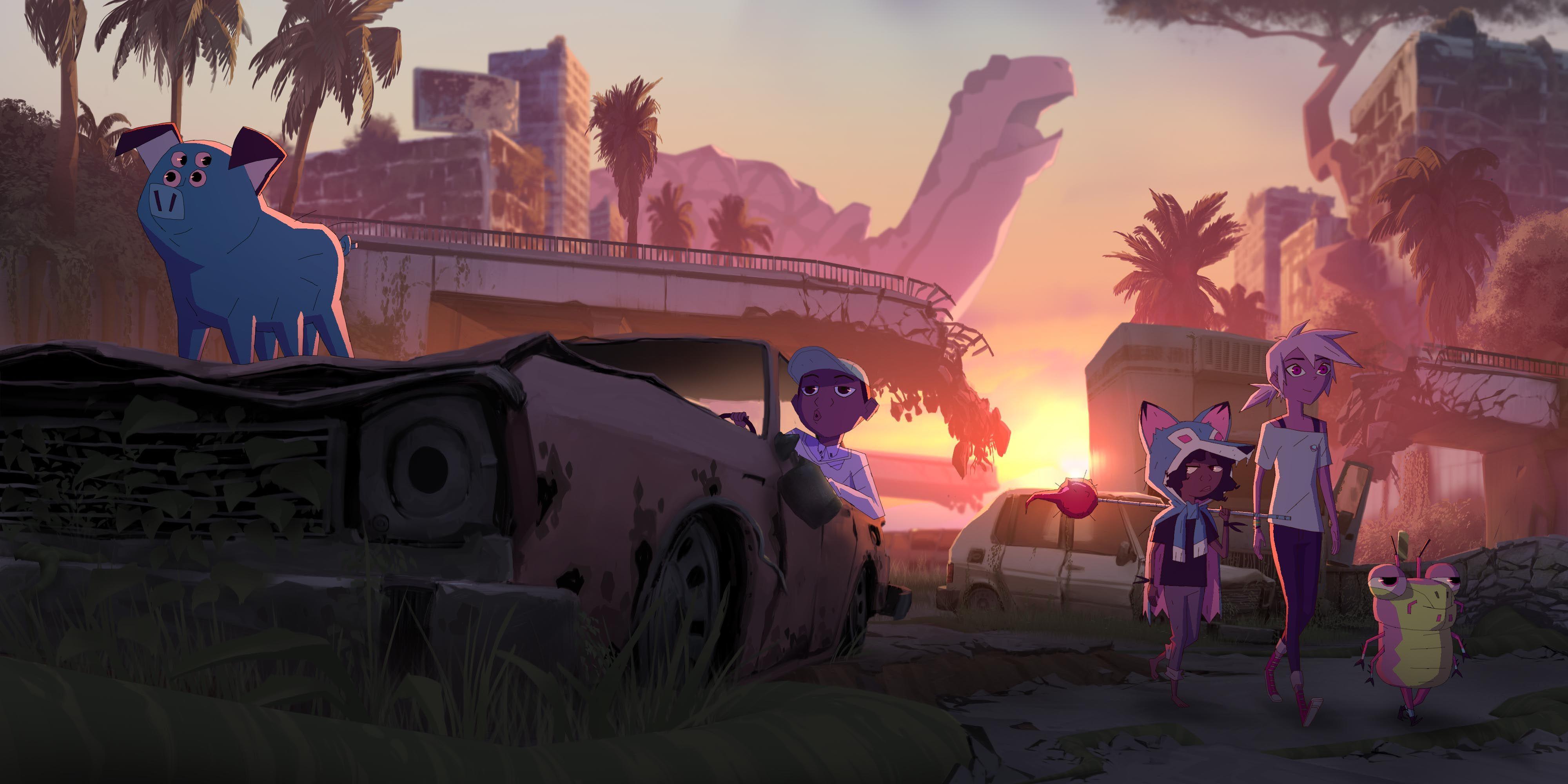 Kipo & The Age of Wonderbeasts Trailer Teases Netflix ...