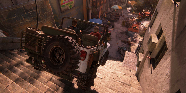 10 Game Scenes That Would Be Epic In The Uncharted Movie