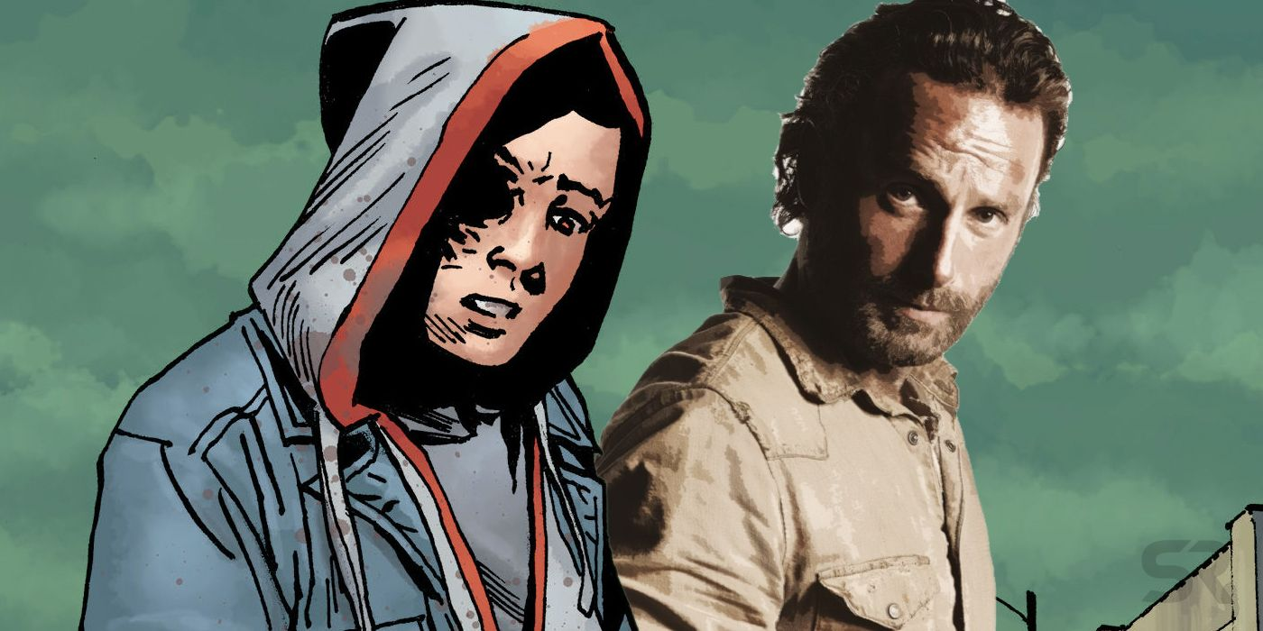 The Walking Dead Comics Shocker The Final Fate Of Rick Grimes Revealed