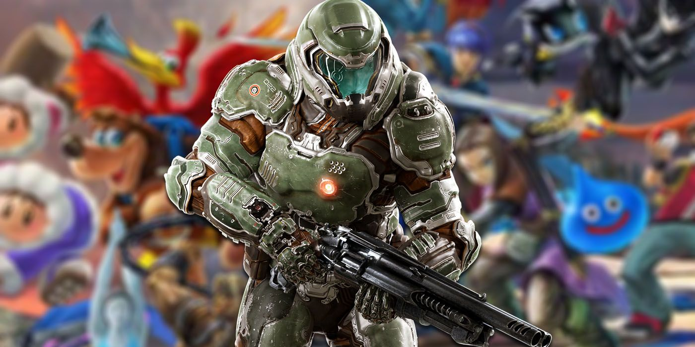 Evidence That Doom Slayer Is Coming To Super Smash Bros Ultimate